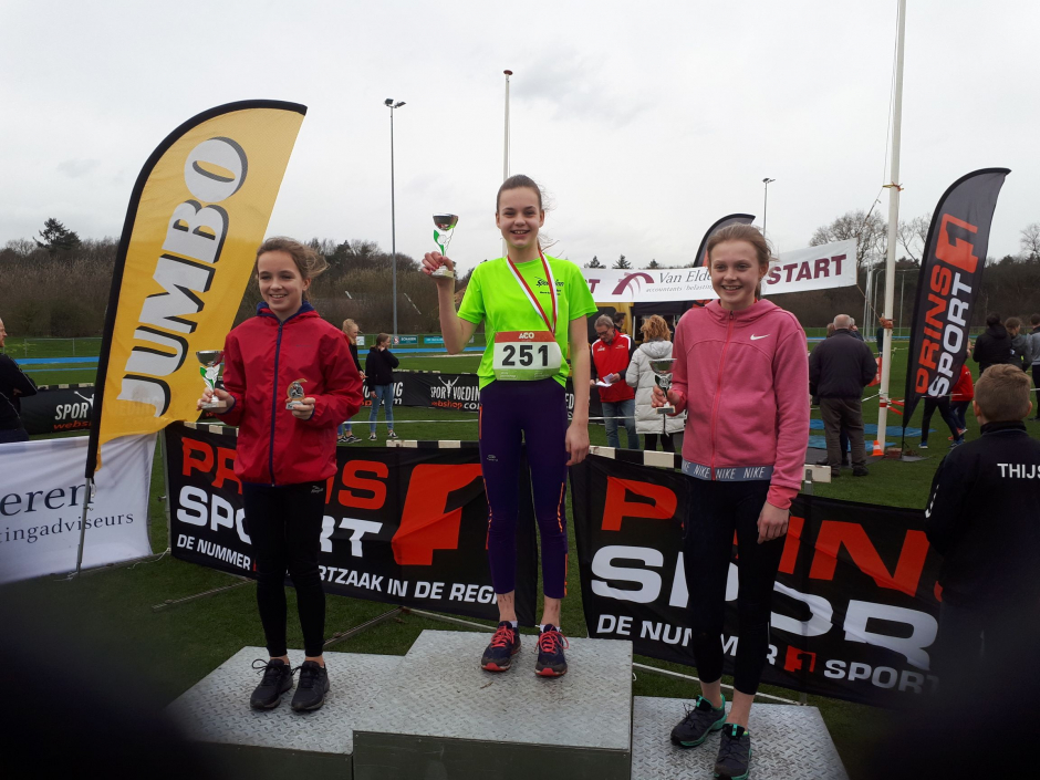 Jasmijn Lamberink winnares Vechtdal Cross competitie