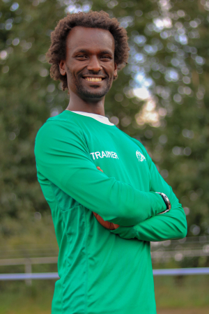 Trainer Tilahun Breunesse